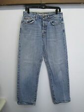 vtg Men's Ben Sherman Light Wash Button Fly Slim Straight Blue Jeans sz 32/32