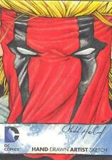 2012 Cryptozoic DC The New 52 Color Sketch card Grifter Chad Haverland MINT RARE
