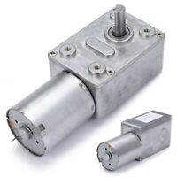 1pc DC 12V 0.6RPM High Torque Turbo Worm Electric Geared Motor GW370 Low Speed