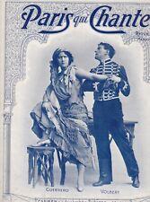 Paris qui chante, n°28 du 2/08/1903. guerrero & volbert (carmen a l'alhambra)