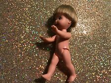 BARBIE'S KELLY & FRIENDS TOMMY BLONDE HAIR DOLL NUDE