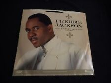 FREDDIE JACKSON - HE'LL NEVER LOVE YOU ( LIKE I DO) 45 - PROMO