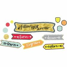 Aim High Follow Your Arrow Mini Bulletin Board Set Carson Dellosa CD-110354