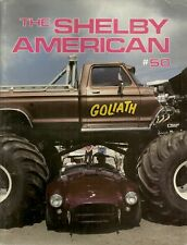 THE SHELBY AMERICAN MAGAZINE 1986, No. 50 - IRS K-CODE, GROUP 2 NOTCHBACK