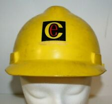 Vintage 1980s Commonwealth Electric Company Company ANSI Hard Hat Lineman