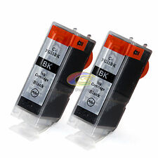 2 Ink Cartridge PGI 5bk Black Only for Canon MP530 MP600 MP610 MP800 MP960 MX850