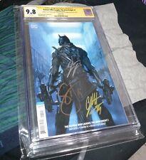 Batman Who Laughs: The Grim Knight #1 CGC 9.8 SS 3x