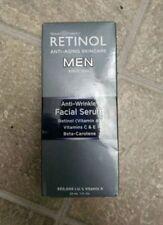 Skincare Cosmetics Retinol Skincare Men Anti-Wrinkle Facial Serum 1oz