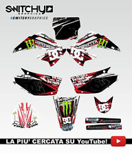 KIT ADESIVI GRAFICHE ROCK CAMO HONDA CR 125 250 2003 2004 2005 2006 2007 DECALS