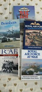 Joblot of 5 Aircraft Books RAF History,Planes, Bombers