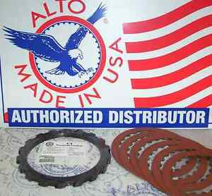 4R100 ALTO Red Eagle Kolene Reverse Clutch Steels Pack 1998-On 24 Tooth Friction