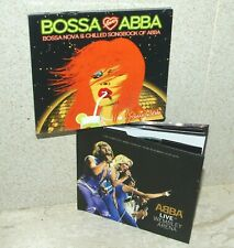 Bossa Loves ABBA (New) & ABBA Live at Wembley Arena 2014 2CDs (Near AsNew)