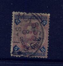Italy   Eritrea   11 used  catalog $550.00  short perfs          MS0122