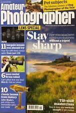 AMATEUR PHOTOGRAPHER MAGAZINE - 21st JULY - Lens special