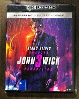 John Wick: Chapter 3 Parabellum 4K UHD Blu-ray Digital Copy Brand New