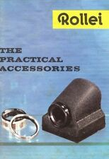 1960s ROLLEI ROLLEIFLEX CAMERA ACCESSORIES BROCHURE -ROLLEIMARIN UNDERWATER