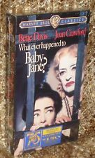 WHATEVER HAPPENED TO BABY JANE VHS, NEW & SEALED, DAVIS & CRAWFORD TOGETHER!