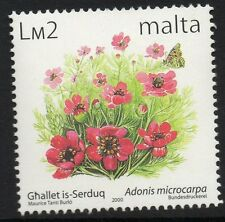 MALTA SG1151 1999 FLOWERS £2 MNH