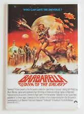 Barbarella Queen of the Galaxy FRIDGE MAGNET (2 x 3 inches) movie poster