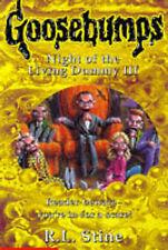 Night of the Living Dummy III (Goosebumps), R.L. Stine | Paperback Book | Good |