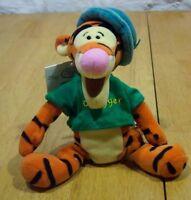 "Walt Disney Winnie the Pooh ST. PATRICKS DAY TIGGER 9"" Bean Bag Stuffed Animal"