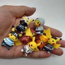 Pokemon Figures model toys Pikachu Cosplay 7pcs Set kids Free Uk Delivery