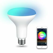 WiFi BR30 LED Flood Light Bulb, Tunable White & Color Changing Smart Flood  E9S9