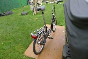 Dahon Ciao folding bike, Chocolate Brown, good condition