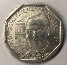 2 Francs Louis Pasteur 1995 Monnaie Française Commémorative TTB Minimum