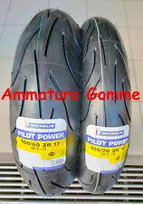 COPPIA 120/70 17 160/60 17 +OMAGGIO DOT/Anno2020 MICHELIN PILOT POWER GOMME MOTO