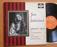 LXT 5531 Joan Sutherland Operatic Arias Nello Santi 1959 Decca Mono EXCELLENT