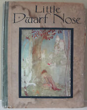 LITTLE DWARF NOSE AND THE MAGIC WHISTLE 1916 1st Ed Illus by Florence Anderson