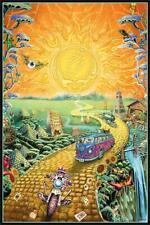 Grateful Dead Golden Road Poster 24-by-36 Inches