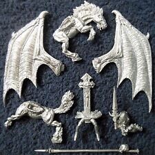 1995 Dark Elf Sorceress Riding Dark Pegasus Citadel Lords & Heroes Drow Witch GW