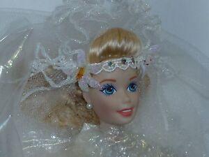 Mattel Starlily Bride Porcelain Barbie ~ In Original Box & Shipper ~ Mint ~ NRFB