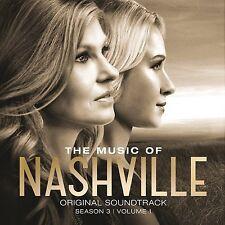 NASHVILLE - THE MUSIC OF NASHVILLE: SEASON 3 VOLUME 1 CD ALBUM (April 20th 2015)