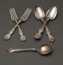 Five Pieces Whiting Sterling Silver Flatware Lot 176
