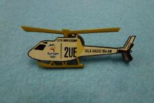 "Sydney Radio 2UE ""White Helicopter""  Pin Sydney 2000 Olympic Games"