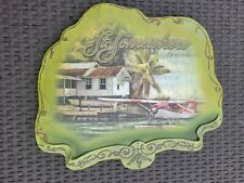 Margaritaville New St Somewhere Jimmy Buffet large plaque wall decor seaplane