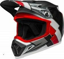 Bell Mx-9 Mips Motorcycle Helmet Twitch Replica Matte Black/Red/White X-Large
