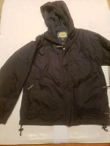 Cabelas Rain Stopper Jacket Mens Waterproof Windbreaker Small