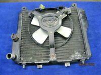 Kawasaki Concours ZG1000 OEM Radiator Rad w/ Fan No Leaks / Straight Part 86-06
