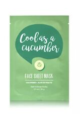 Bath & Body Works Face Sheet Mask 'Cool As A Cucumber' Cucumber & Aloe Extracts