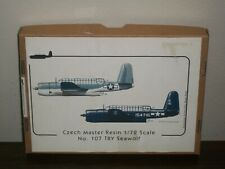 Czech Master Resin 1/72 Scale Consolidated TBY Seawolf