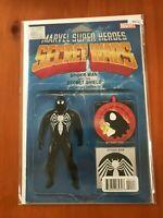 Marvel Super Heroes Secret Wars 001 Variant Edition - Comic Book - B36-51