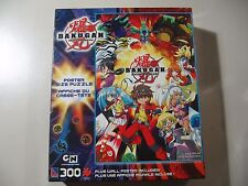 300 pc Poster Size Puzzle, Bakugan, Brand New & Sealed
