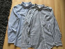 GREY STRIPED SHIRT SIZE 8 FROM H&M + FREE SHIRT.