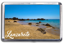 Lanzarote Fridge Magnet Collectable Design Holiday Souvenir Canary Islands