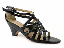 Circa Joan & David Women's Nitsa Strappy Sandals Black Size 10 M