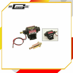 Mr. Gasket 42S Electric Fuel Pump For Use w/Carburetor 2-3.5 psi 42 GPH